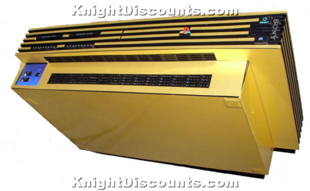 PS2 & Playstation 2 SLIM GOLD Skin Case Mod Sticker NEW | eBay