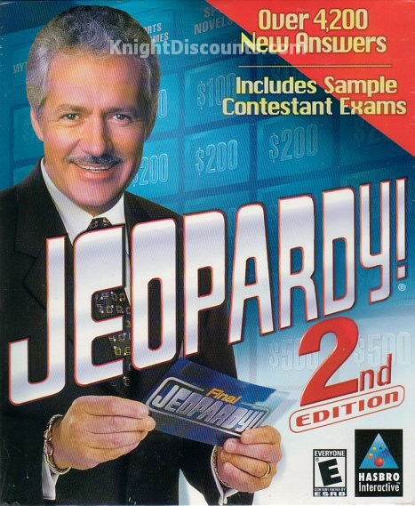 Examples Of Jeopardy Categories: Jeopardy 2