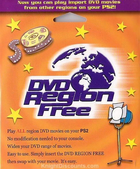 PS2 DVD Region Free