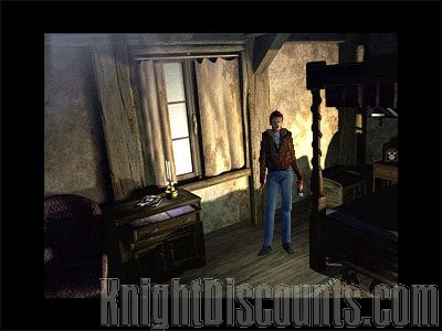ALONE IN THE DARK 4 The New Nightmare PC RPG Horror Action ...
