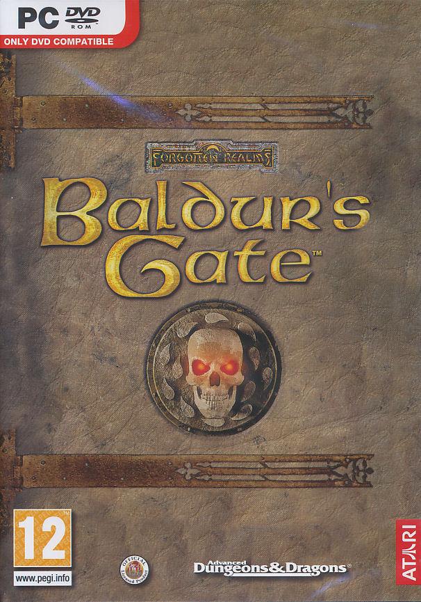 BALDUR'S GATE Original Forgotten Realms Role Playing
