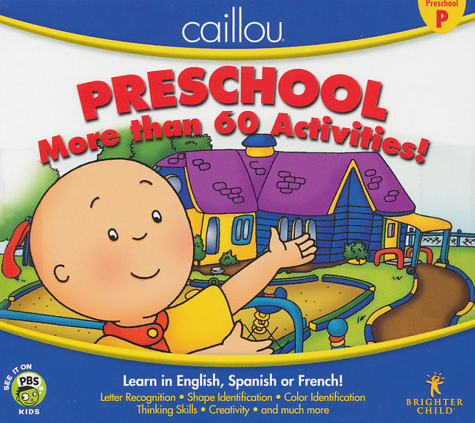 xbox 360 educational games for preschoolers caillou preschool learn 185