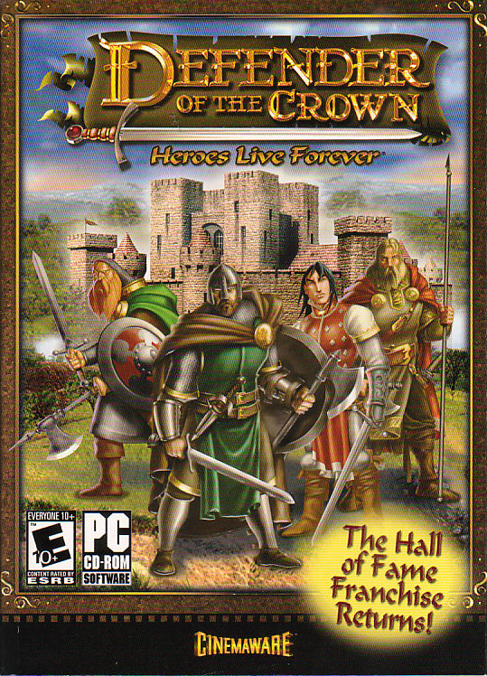 DEFENDER OF THE CROWN Heroes Live Forever - Robin Hood Cinemaware PC