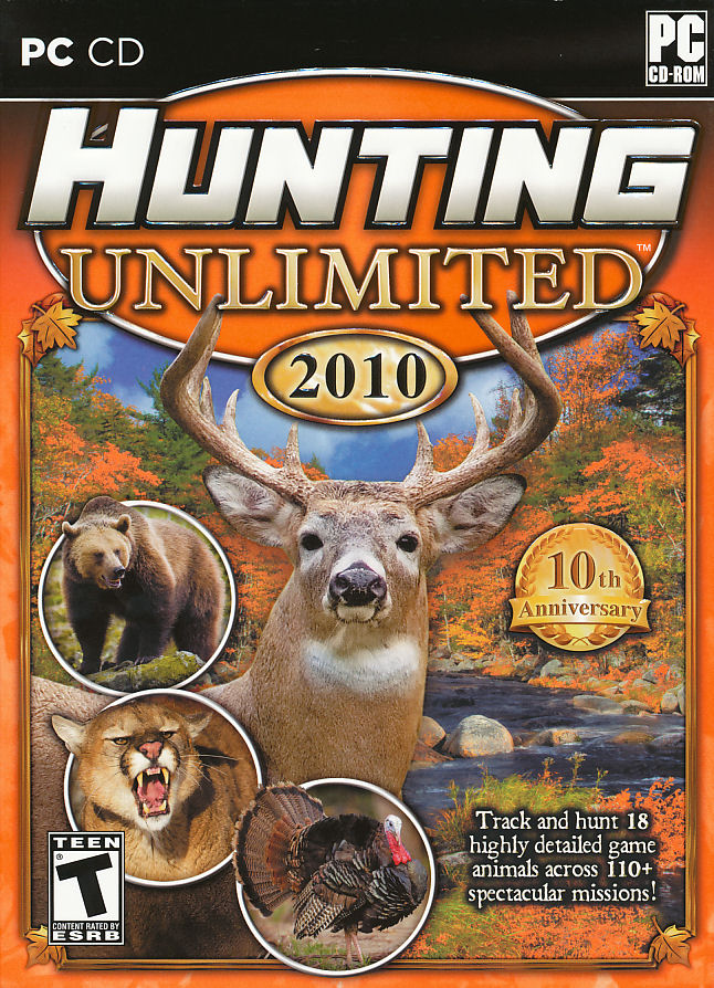 Details about HUNTING UNLIMITED 2010 Deer Hunter Type PC Game NEW BOX