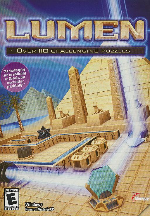 Lumen Ancient Egypt Puzzle Pc Game New Box Win98 Vista