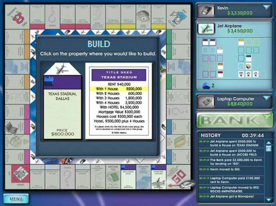 Screens Zimmer 1 angezeig: monopoly here and now pc
