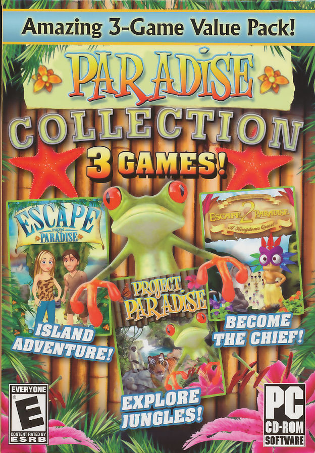 Details about PARADISE COLLECTION 3x PC Game Escape from Paradise NEW