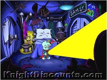 Pajama sam no need to hide when its dark outside cdrom for Freddi fish online