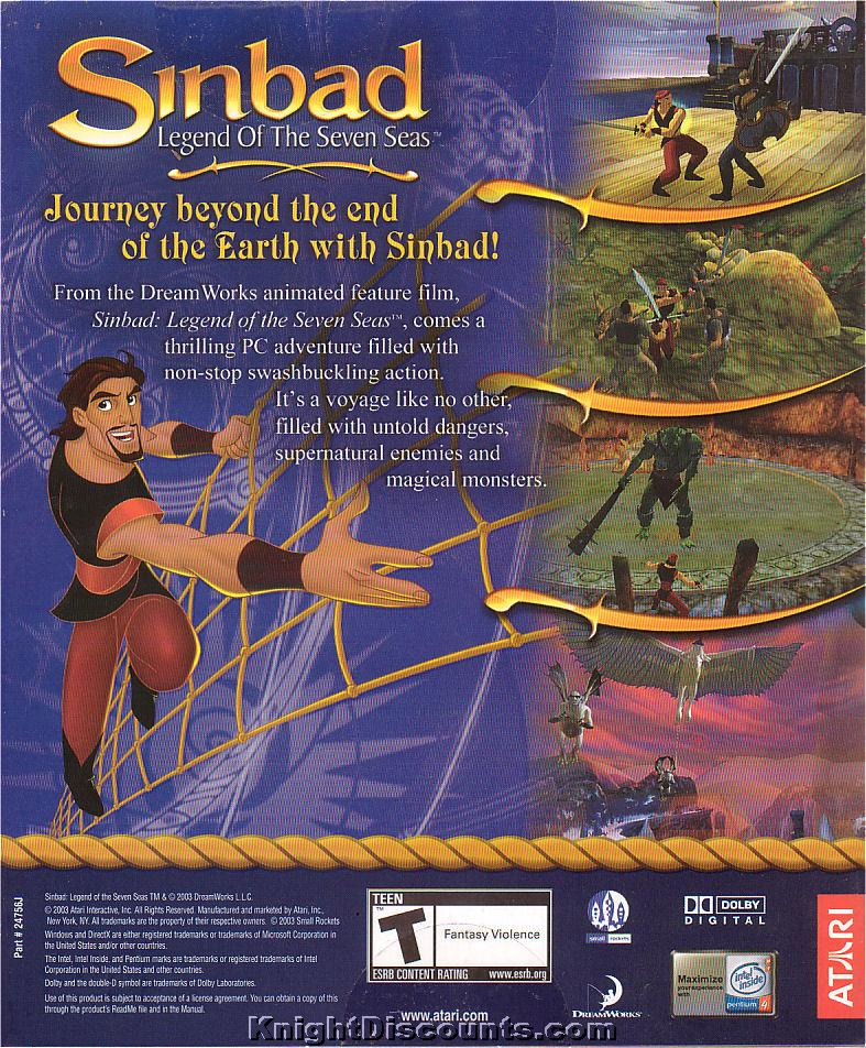 Sinbad: Legend of the Seven Seas - Wikipedia