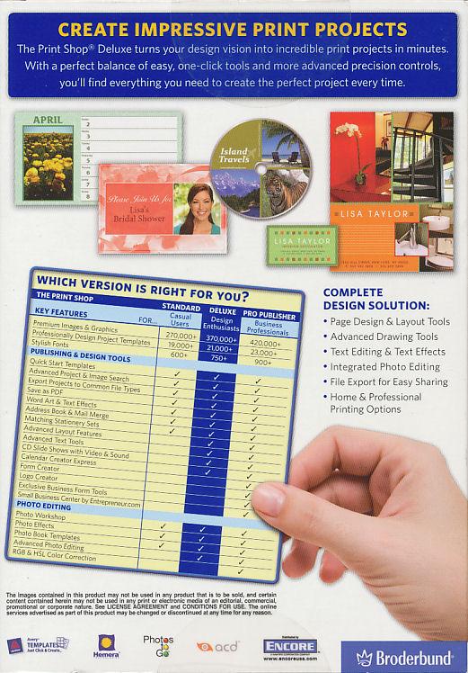 Print Shop Programs