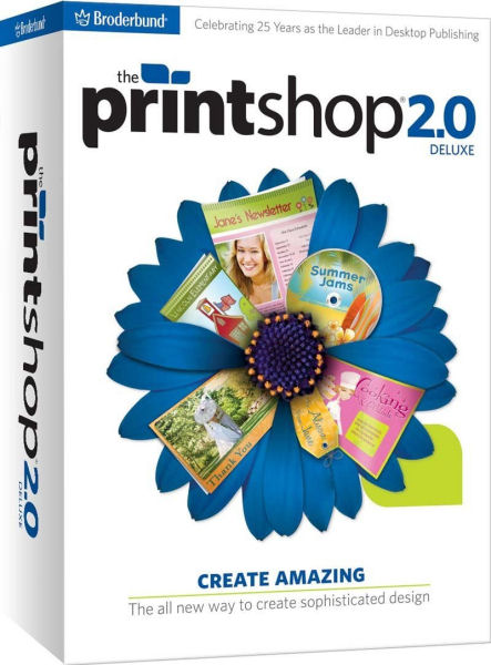 The PRINTSHOP 2.0 DELUXE - Broderbund Desktop Publisher ...