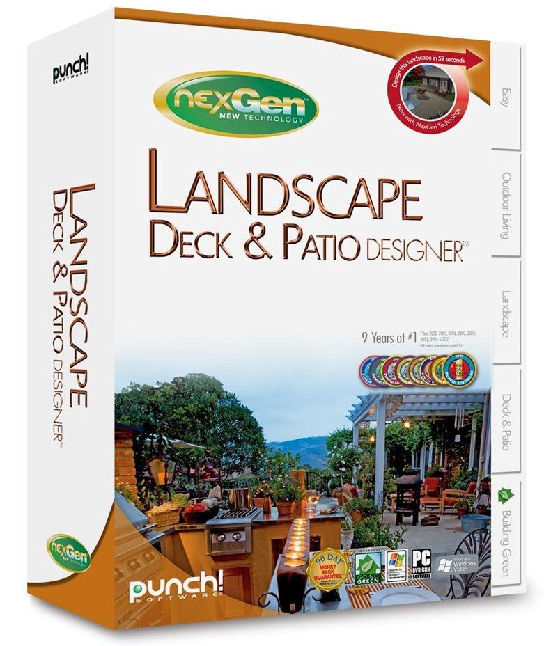 Nexgen Landscape Deck Patio Designer