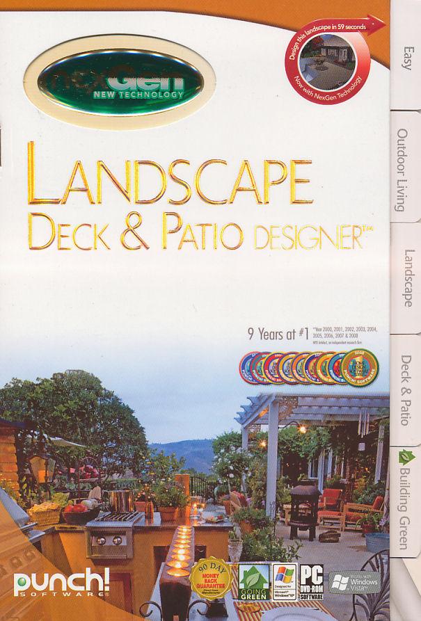punch landscape deck amp patio designer w nexgen tech