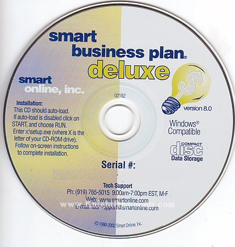 free smart business plan deluxe