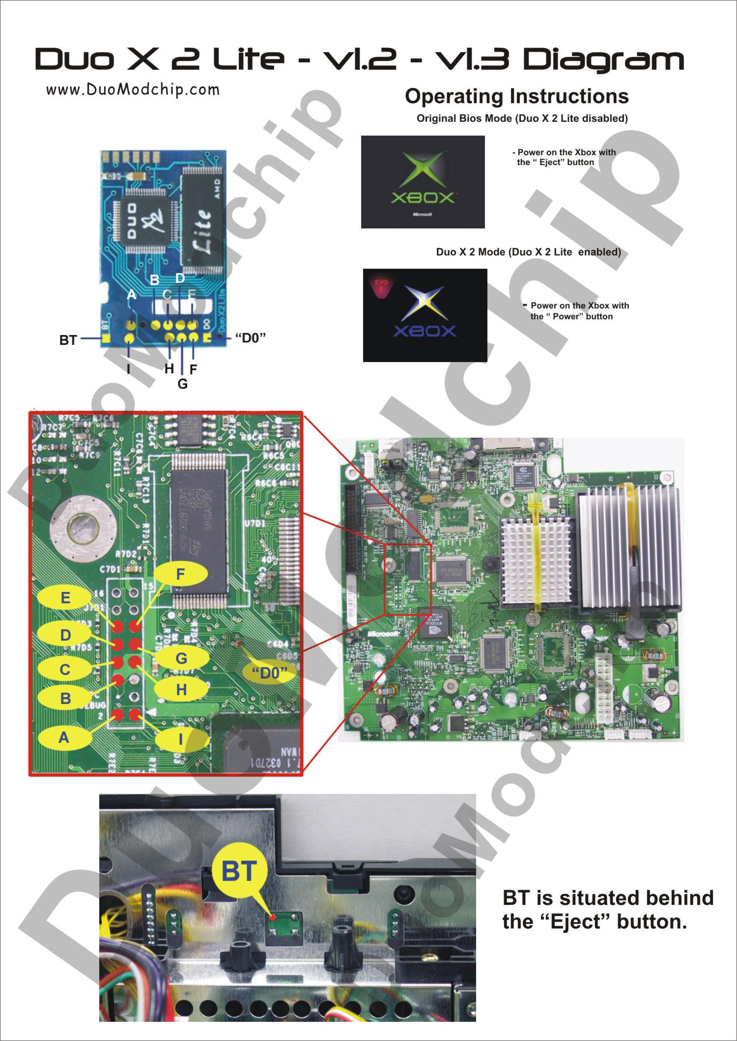 Xbox Power Eject Wiring Diagram Libraries 360 Tray Free Image About And Schematic Duo X2 Litexbox 13
