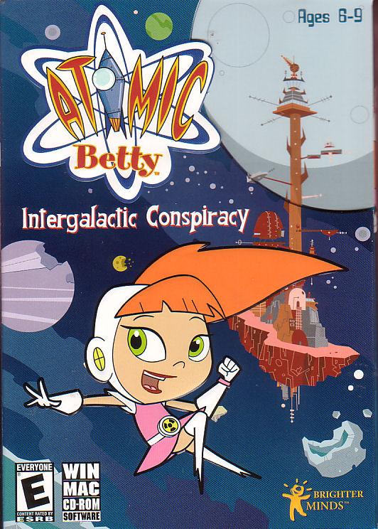 Atomic Betty Intergalactic Conspiracy Win Mac Game New