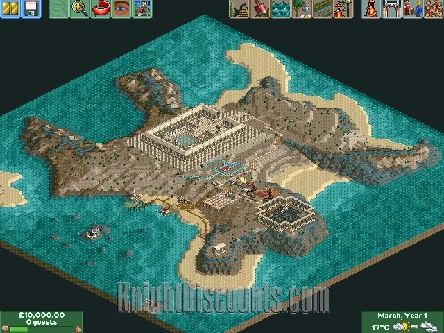 Roller coaster tycoon 2 ii time twister pc game expansion new in screenshots gumiabroncs Gallery