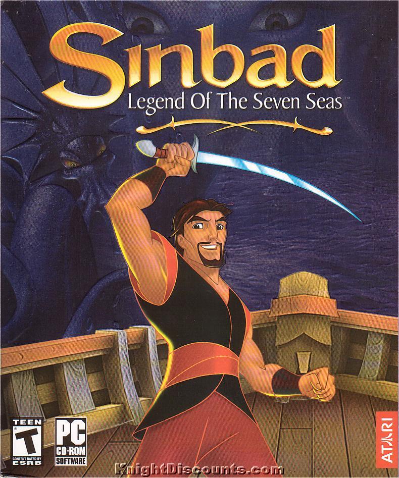 Sinbad legend of the seven seas pc game new in box winx