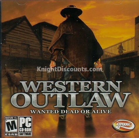 WESTERN OUTLAW Wanted Dead or Alive Wild West Game NEW   eBay