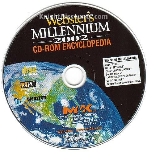 Websters Millenium PLATINUM ENCYCLOPEDIA x5 CDs NEW Box